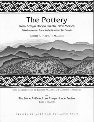 The Pottery from Arroyo Hondo Pueblo: Tribalization and Trade in the Northern Rio Grande (Paperback)