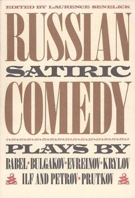 Russian Satiric Comedy (Paperback)