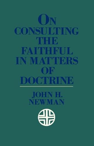 On Consulting the Faithful in Matters of Doctrine (Paperback)