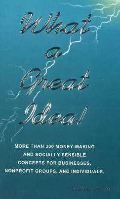 What a Great Idea!: More Than 300 Money-Making Concepts for Businesses, Nonprofits Groups & Individuals (Paperback)