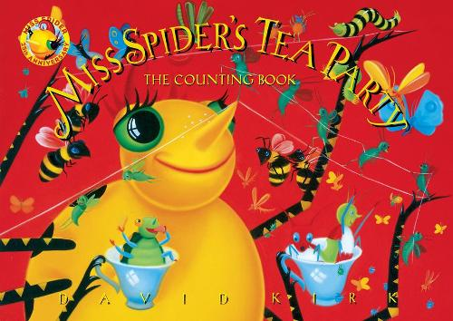 Miss Spider's Counting Book: 25th Anniversary Edition (Board book)