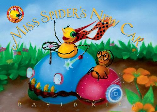 Miss Spider's New Car: 25th Anniversary Edition (Board book)