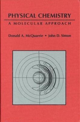 Physical Chemistry: A Molecular Approach (Hardback)