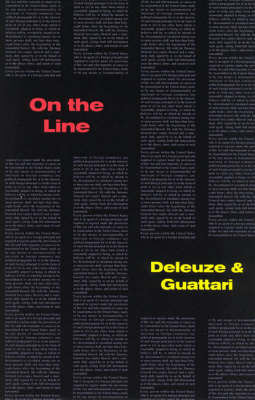 On The Line - Semiotext(e) / Foreign Agents (Paperback)