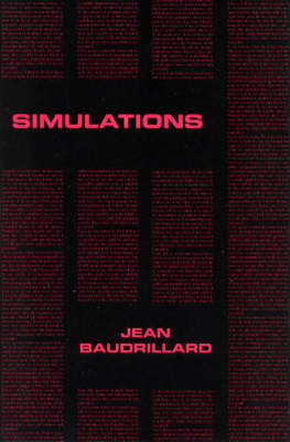 Simulations - Semiotext(e) / Foreign Agents (Paperback)