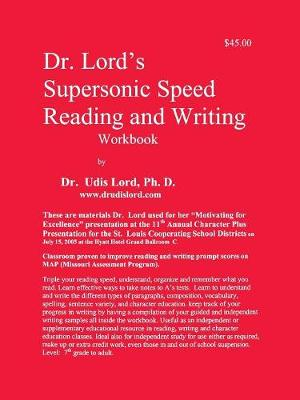 Dr. Lord's Supersonic Speed Reading and Writing Workbook (Paperback)