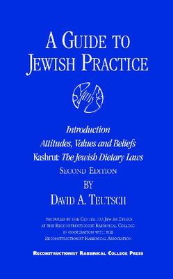 A Guide to Jewish Practice: Kashrut (Paperback)