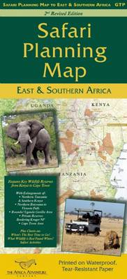 Safari Planning Map to East and Southern Africa (Sheet map, folded)