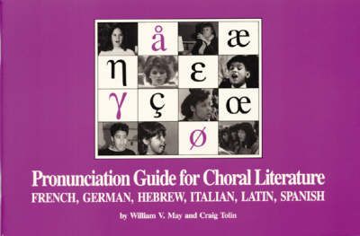 Pronunciation Guide for Choral Literature (Paperback)