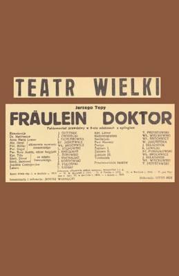 Frulein Doktor (Paperback)