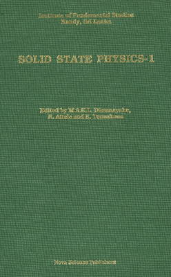 Solid State Physics 1 (Hardback)