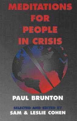 Meditations for People in Crisis (Paperback)