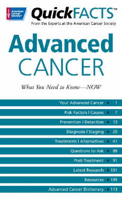 QuickFACTS Advanced Cancer (Paperback)