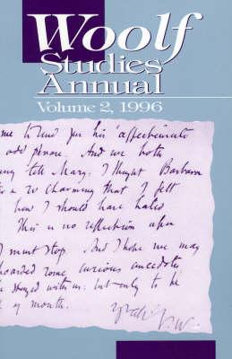 Woolf Studies Annual 1996: 1996 (Paperback)