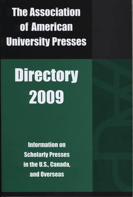 The Association of American University Presses Directory 2008 (Paperback)