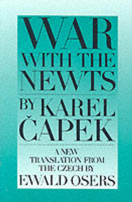 War With The Newts (Paperback)