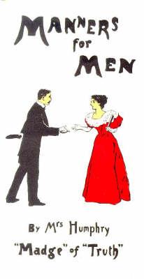 Manners for Men (Paperback)