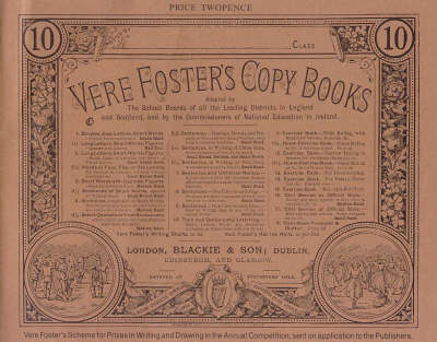 Plain and Ornamental Lettering - Vere Foster's Copy Books No. 10 (Paperback)