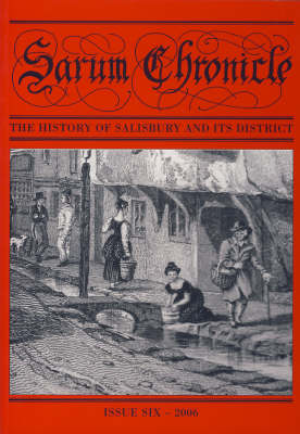 Sarum Chronicle: The History of Salisbury and Its District - Sarum Chronicle v. 6 (Paperback)