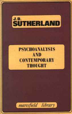 Psychoanalysis and Contemporary Thought - Maresfield Library (Paperback)