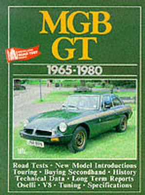 MG MGB GT, 1965-80 - Brooklands Books Road Tests Series (Paperback)