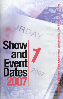 Show and Event Dates (Paperback)