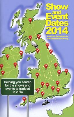 Show and Event Dates 2014 (Paperback)
