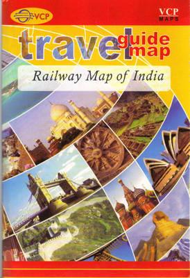 Railway Map of India (Sheet map, folded)