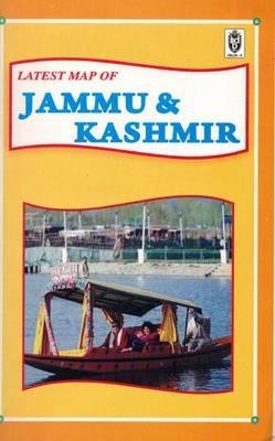 Map of Jammu and Kashmir (Paperback)