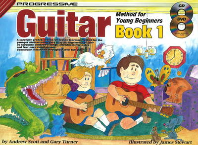 Progressive Guitar Method for Young Beginners: Bk. 1 (Paperback)