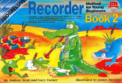 Progressive Recorder for Young Beginners: Book 2/CD Pack (Paperback)