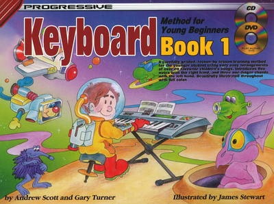 Progressive Keyboard Method for Young Beginners: Bk. 1 (Paperback)