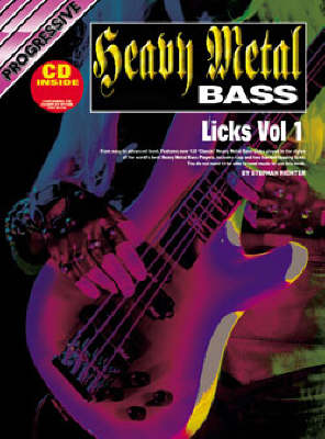 Progressive Heavy Metal Bass Licks: Volume 2 / CD Pack