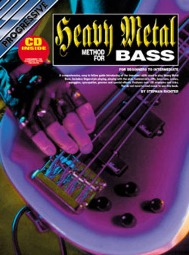 Progressive Hvy Met Bass Guit Met CD (Paperback)
