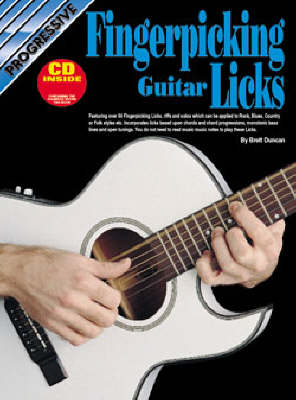 Progressive Fingerpicking Guitar Licks: CD Pack