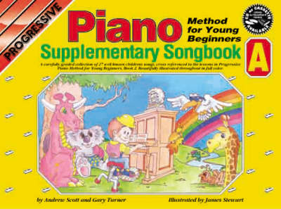 Progressive Piano for Young Beginners: Supplementary Songbook A / CD Pack
