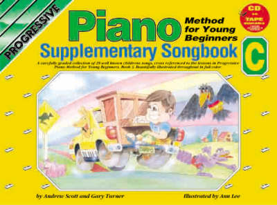 Progressive Piano for Young Beginners: Supplementary Songbook C / CD Pack