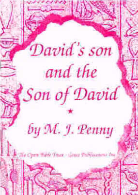 David's Son and the Son of David (Paperback)