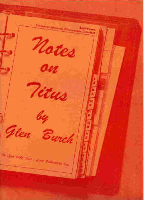 Notes on Titus (Paperback)