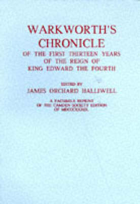 Warkworth's Chronicle (Paperback)