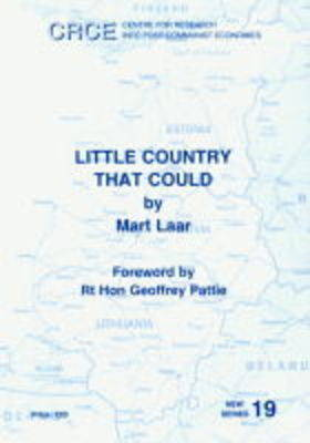 Estonia: Little Country That Could - New S. No. 19 (Paperback)