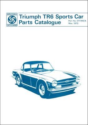 Triumph Tr6 Sports Car Parts Catalogue Part No 517785a
