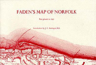 Faden's Map of Norfolk (Paperback)
