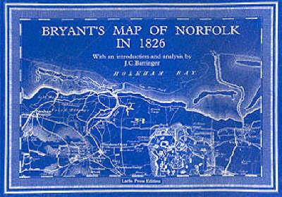 Bryant's Map of Norfolk in 1826 (Paperback)