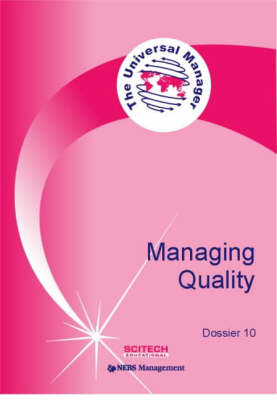 Managing Quality - Universal Manager S. Dossier 10 (Paperback)
