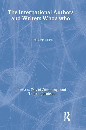 Intl Whos Who Authors 1995 (Hardback)