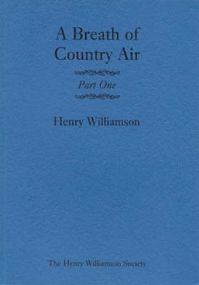A Breath of Country Air: Pt. 1 (Paperback)