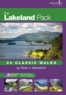 The Lakeland Pack: 20 Classic Walks - The walkers' pack series (Hardback)