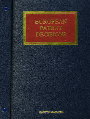 European Patent Decisions