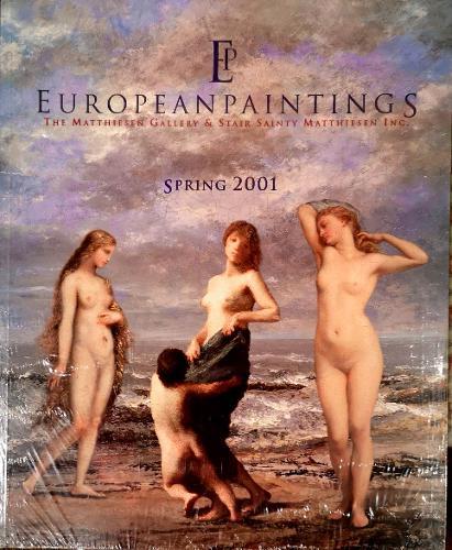 European Paintings 2001: Spring (Paperback)